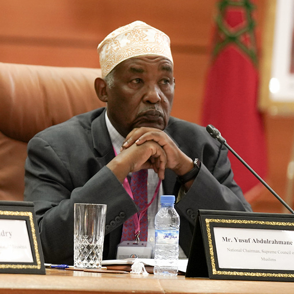 Mr. Yusuf Abdulrahmane Nzibo
