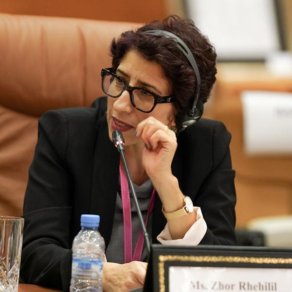 Ms. Zhor Rhehilil